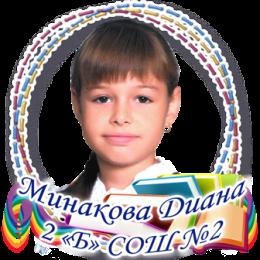 Минакова диана